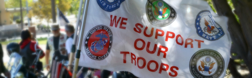 We Support Our Troops - Gold Star Family BBQ
